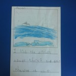 """I learned the difference about sharks and dolphins. Thank you ms. Ada"""